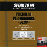 Premiere Performance - Plus Speak to Me (EP)